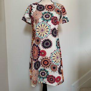 Aryeh | Small A Line Geometric Dress